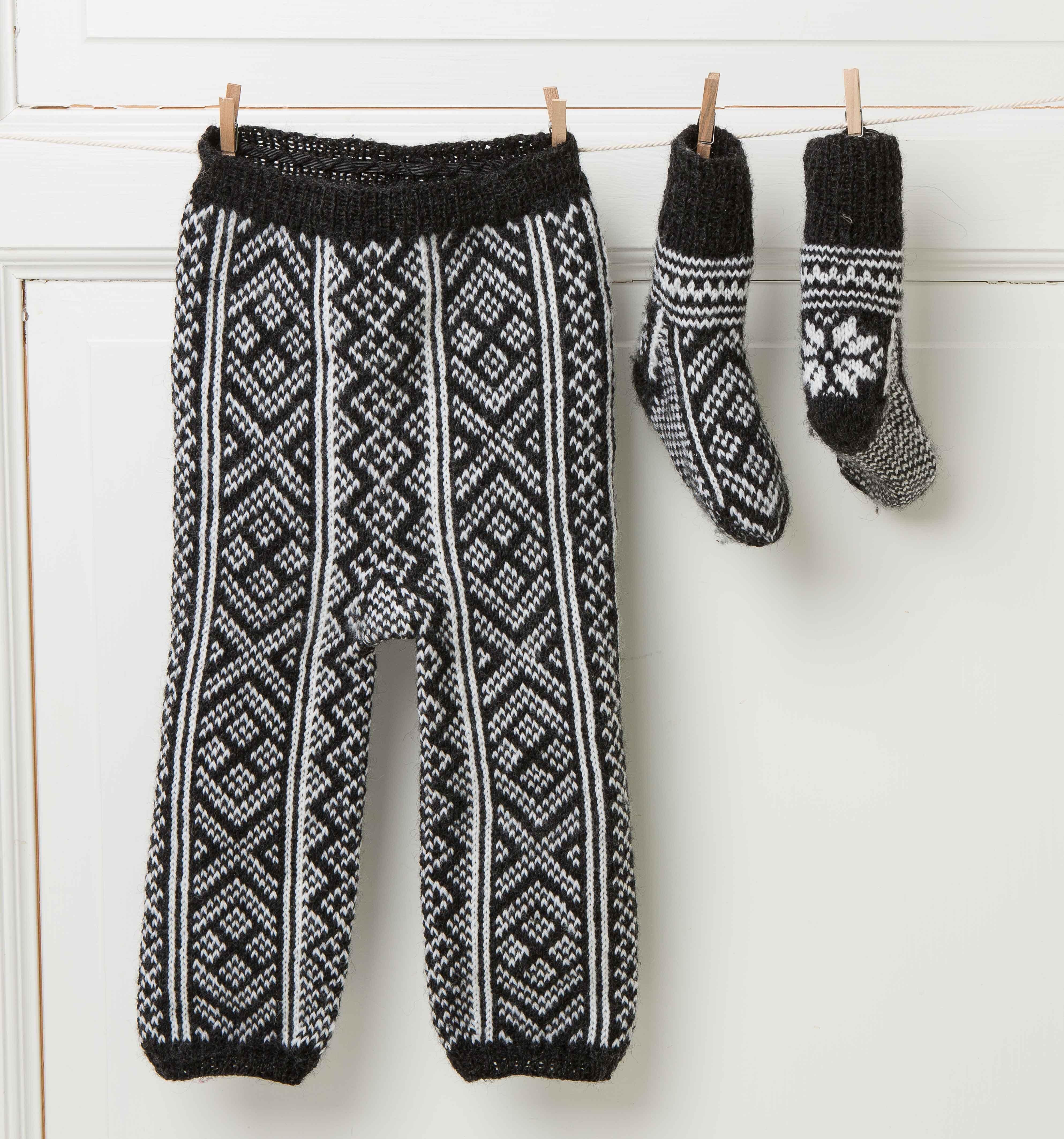 bukse og sokker