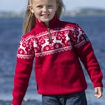 Viking Reindeer Sweater