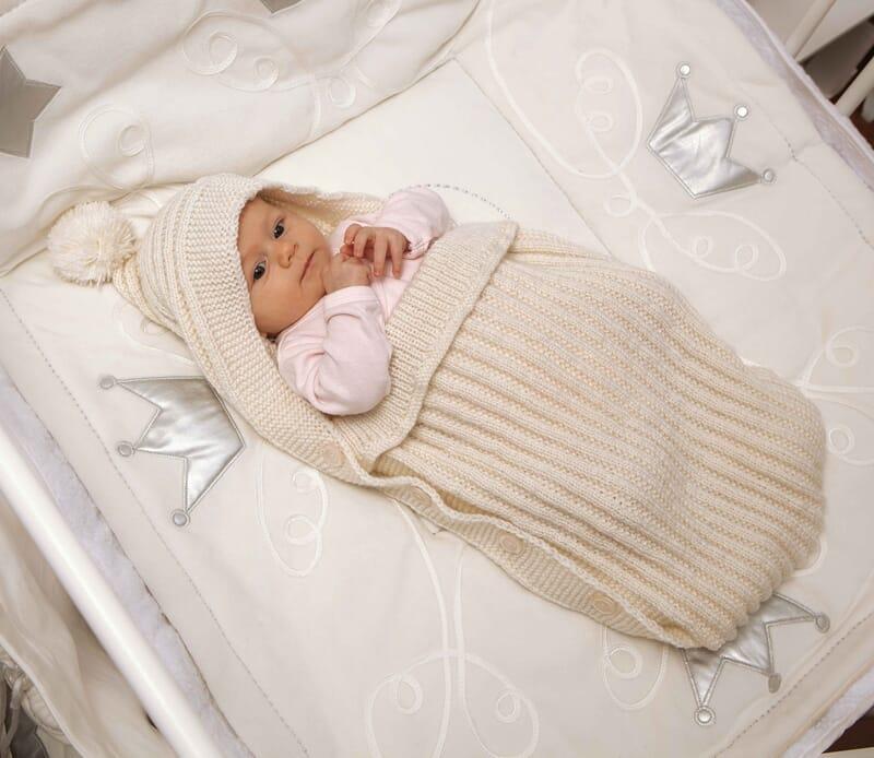 Вязанный костюм спицами для новорожденных схемы