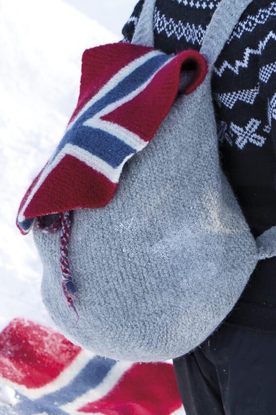 d4dfa7bb Sekk med norsk flagg - Viking of Norway