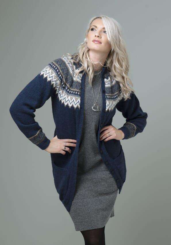 4fbd8aa55 Vår Lang jakke med lommer - Viking of Norway