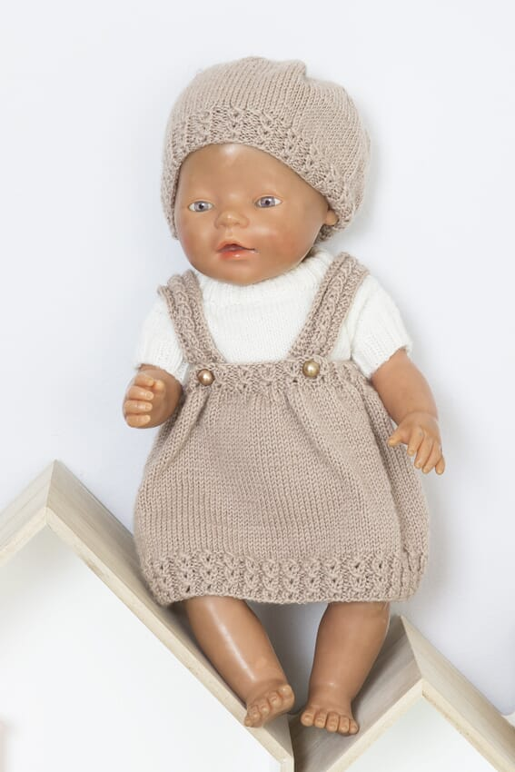 ca7e25fd 1610-4 Pia Skjørt og genser - BabyBorn - Viking of Norway