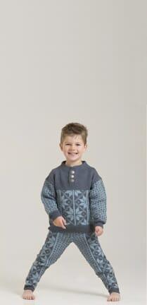 1704 16 Elmer genser og bukse barn Viking of Norway