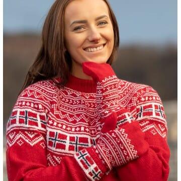 2003-3 Heia norge votter (Rød)