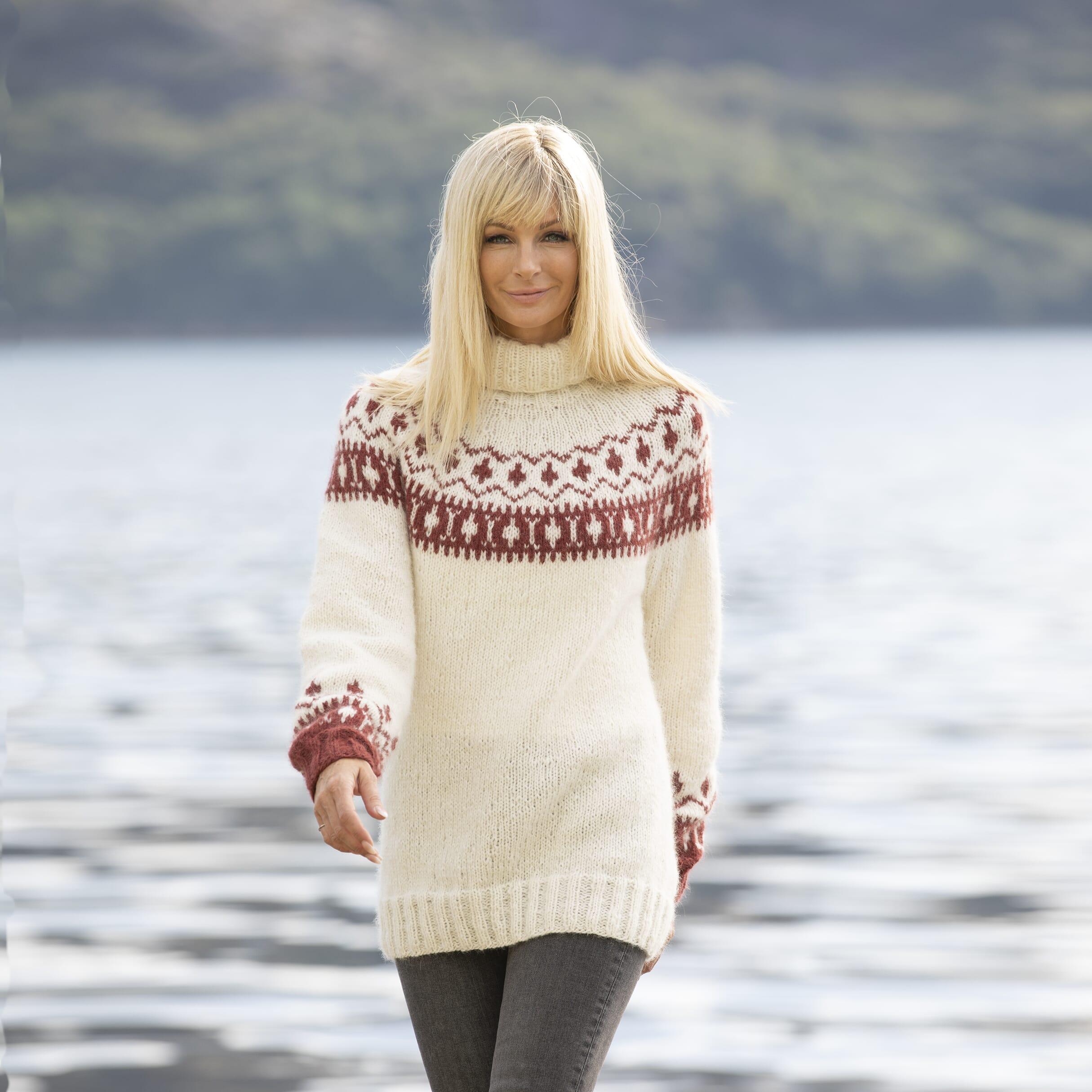 Glød genser Viking of Norway