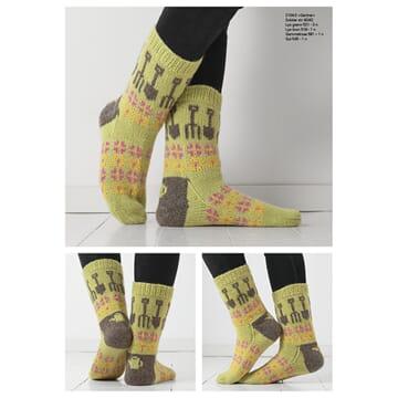 """2104-2 """"Gartner""""-sokken"""