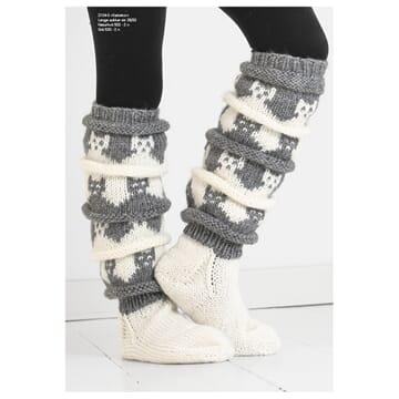 """2104-3 """"Kattekor""""-sokken"""