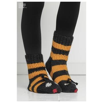 """2104-5 """"Humle""""-sokken"""