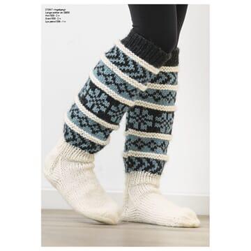 """2104-7 """"Ingebjørg""""-sokken"""